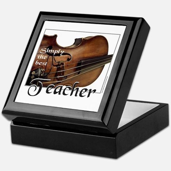 BEST TEACHER Keepsake Box
