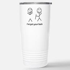 Funny Happiness being Travel Mug