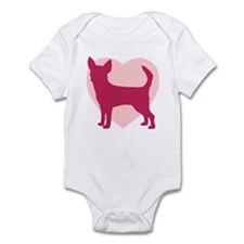 Chihuahua Valentine's Day Infant Bodysuit