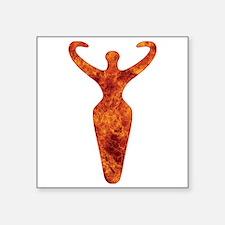 Fire Goddess Symbol Sticker