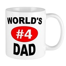 World's #4 Dad | Mug