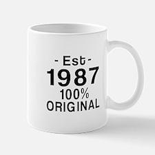 Est.Since 1987 Mug