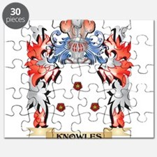 Knowles Coat of Arms - Family Crest Puzzle