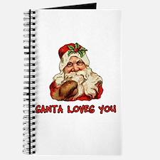 Santa Loves You Journal