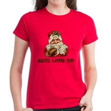 Santa Loves You Tee