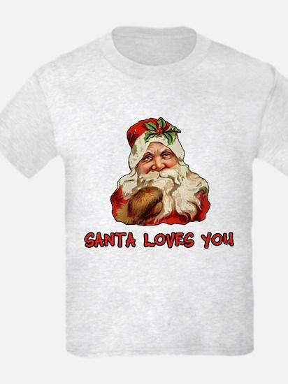 Santa Loves You T-Shirt