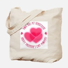 You Are My Heartbeat Tote Bag