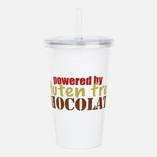 Powered By Gluten Free Acrylic Double-wall Tumbler
