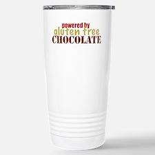 Powered By Gluten Free Stainless Steel Travel Mug