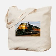 Cute Train Tote Bag