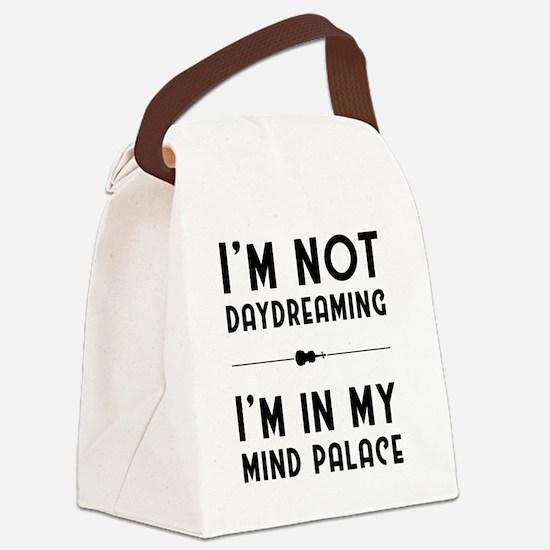 Cute Sherlock Canvas Lunch Bag