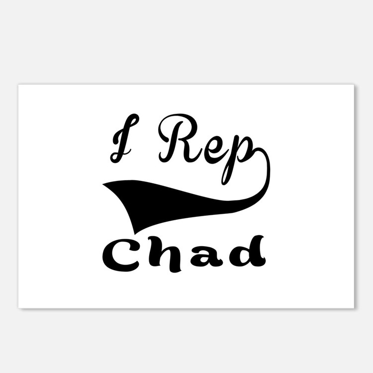 I Rep Chad Postcards (Package of 8)