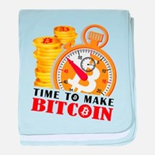 Time to make Bitcoin Stopwatch01 baby blanket