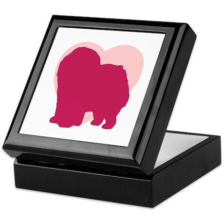 Chow Chow Valentine's Day Keepsake Box
