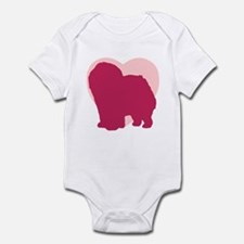 Chow Chow Valentine's Day Infant Bodysuit