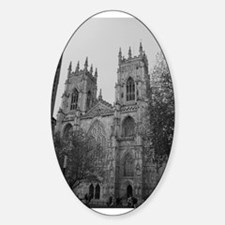 York Minster Oval Decal