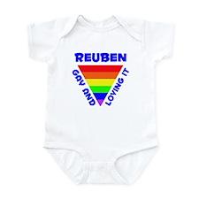 Reuben Gay Pride (#005) Infant Bodysuit