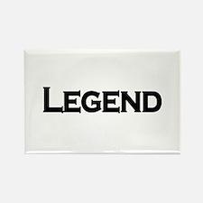 Legend Rectangle Magnet