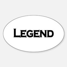 Legend Oval Decal