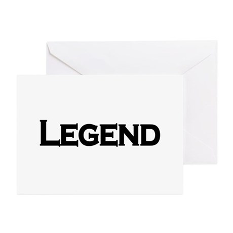 Legend Greeting Cards (Pk of 20)