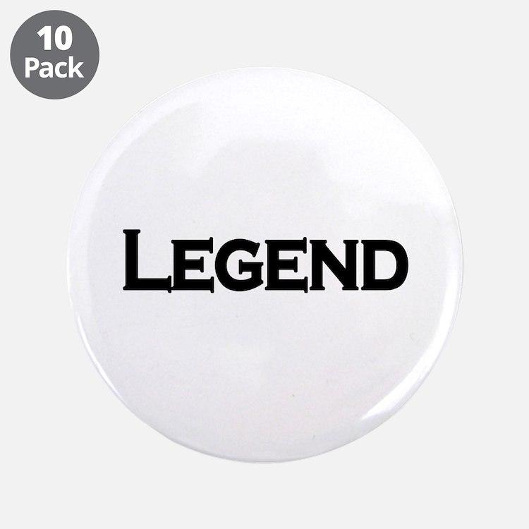 "Legend 3.5"" Button (10 pack)"