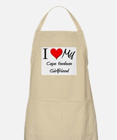 I Love My Cape Verdean Girlfriend BBQ Apron