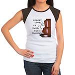 Forget Chocolate Women's Cap Sleeve T-Shirt