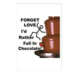 Forget Chocolate Postcards (Package of 8)