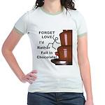 Forget Chocolate Jr. Ringer T-Shirt