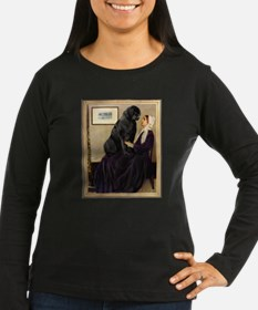 Whistler's Mother & Newfie Long Sleeve T-Shirt