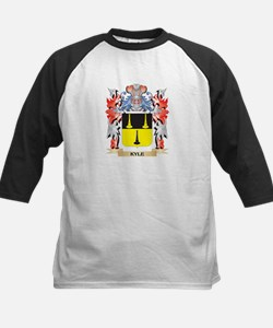 Kyle Coat of Arms - Family Crest Baseball Jersey