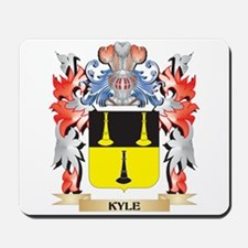 Kyle Coat of Arms - Family Crest Mousepad