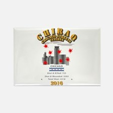 City - CHIRAQ - 2016 Rectangle Magnet