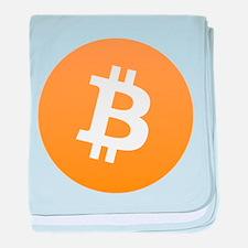 Bitcoin Standard Logo 01 baby blanket