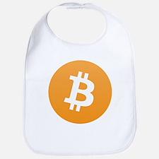 Bitcoin Standard Logo 01 Baby Bib