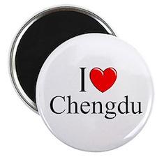 """I Love Chengdu"" Magnet"