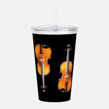 Violas-ViolinsRug.png Acrylic Double-wall Tumbler