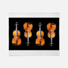 Violas-ViolinsRug.png Throw Blanket