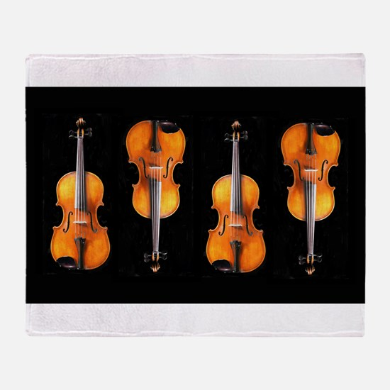 Violas-ViolinsRug.png Throw Blanket