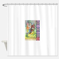 Hansel and Gretel art Shower Curtain