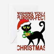 Cat lover Perfect Christmas Greeting Cards