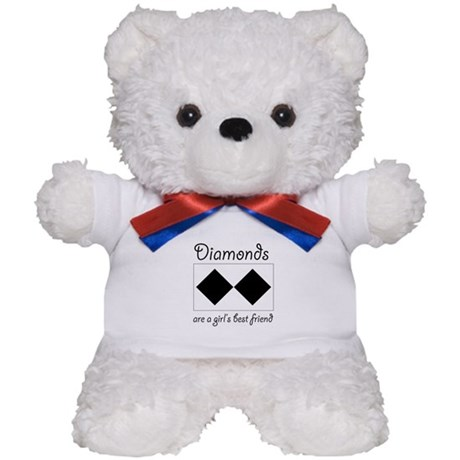 Double Diamond Teddy Bear