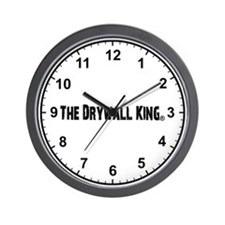 The Drywall King Wall Clock