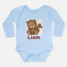 Liam's Cowboy Bear Long Sleeve Infant Bodysuit