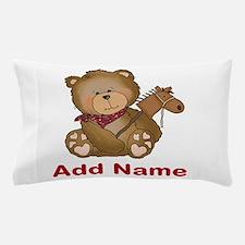 cowboy bear personalized Pillow Case