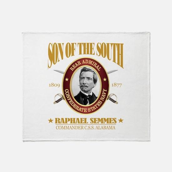 Raphael Semmes (SOTS2) Throw Blanket