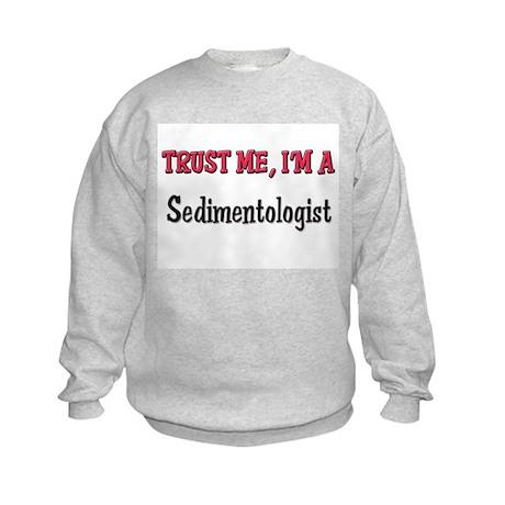 Trust Me I'm a Sedimentologist Kids Sweatshirt