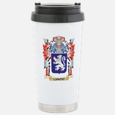 Lamont Coat of Arms - F Stainless Steel Travel Mug