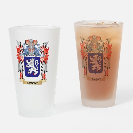 Lamont Coat of Arms - Family Crest Drinking Glass