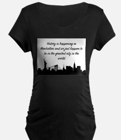Greatest City In the World Maternity T-Shirt